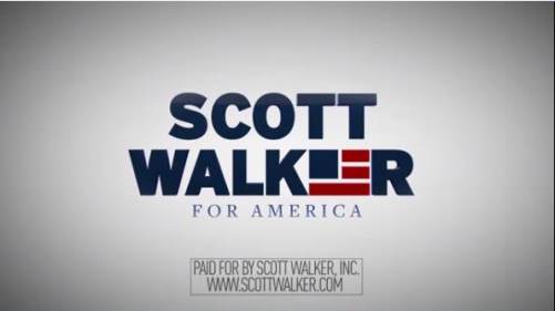 Scott Walker Announcement Vidoe