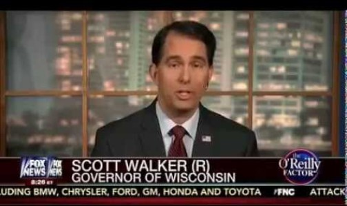 Scott Walker on FOX News