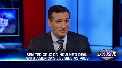 Ted Cruz on Fox TV