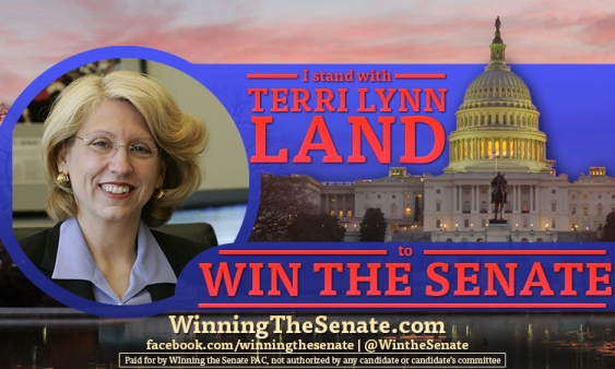 Terri Lynn Land Banner