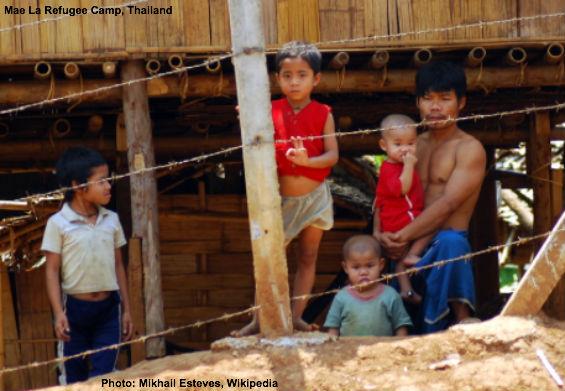 Refugee Camp in Thailand