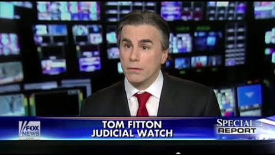 Judicial Watch President Tom Fitton