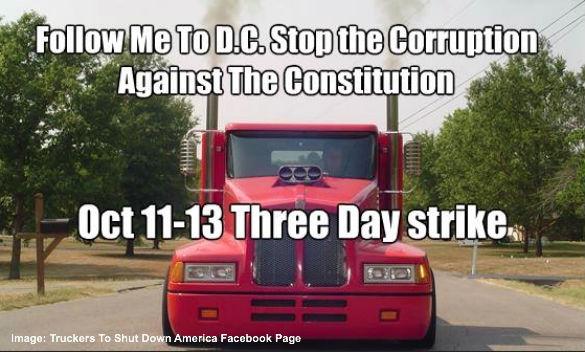 Truckers to Shutdown America