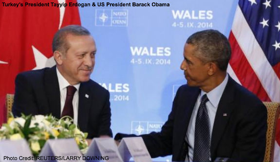 Turkish President and Obama
