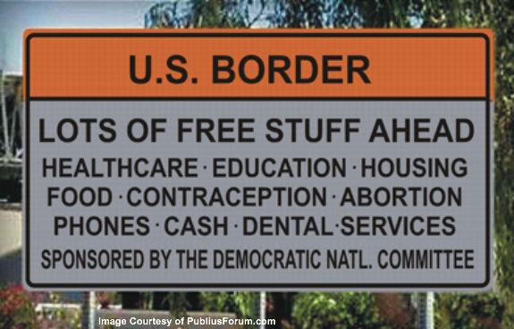 US Border free stuff