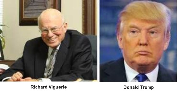 Richard Viguerie and Donald Trump